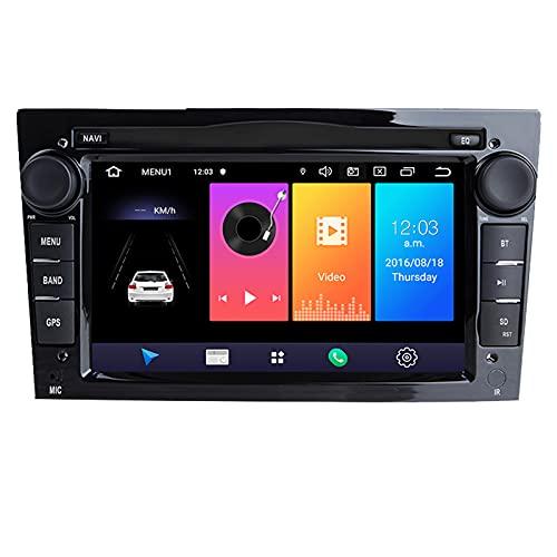 HAZYJT 2 DIN Android 10 Car Dvd Player Multimedia Dsp Navigation Radio Compatibile con Opel Vectra C Zafira B Corsa D C Astra H G J Meriva Vivaro