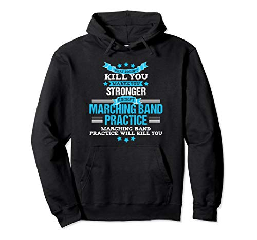 Marching Band Hoodie Funny Band Geek Director Gift