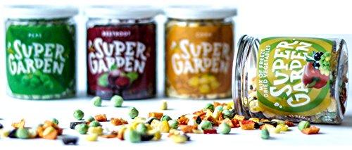 Supergarden Snackbox Gemüse - Gefriergetrocknetes Gemüse - Gesunder Snack - 100% Rein Und Natürlich - Für Veganer Geeignet - Ohne Zuckerzusatz- Glutenfrei