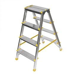 Stehleiter vier Stufen - beidseitig begehbar