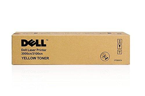 Original Dell 593-10066 / P6731, für 3000 cn Premium Drucker-Kartusche, Gelb, 2000 Seiten