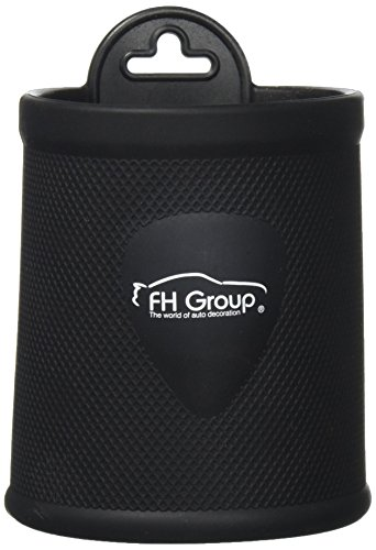 FH Group FH3021BLACK Black Silicone Dash/Vent Mounted Cup Holder (Smartphone Iphone, Galaxy Coin Grip)