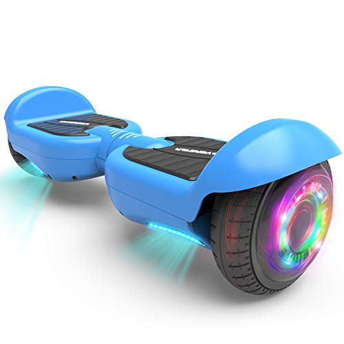HOVERSTAR All-New HS2.0 Hoverboard Two-Wheel Self Balancing Flash Wheel Electric Scooter (Matt Blue)