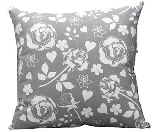 MONTANCHEZZ Federa per cuscino, 45 x 45 cm, 45 x 45 cm, stampa digitale, stile moderno, con motivo 'Throw Pillow Case', colore: rosa