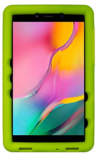 BobjGear Bobj - Funda para tablet Samsung Galaxy Tab A 8.0 (2019) SM-T290, SM-T295 (apta para niños), Verde (Gotcha Green)