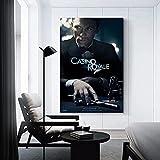 TANXM Bild Auf Leinwand 50x70cm Kein Rahmen Casino_Royale