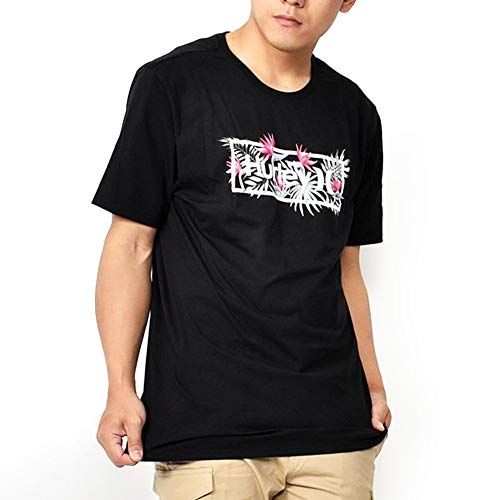 Hurley M One&Only Exotics Tee-Shirts Homme Black FR: L (Taille Fabricant: L)
