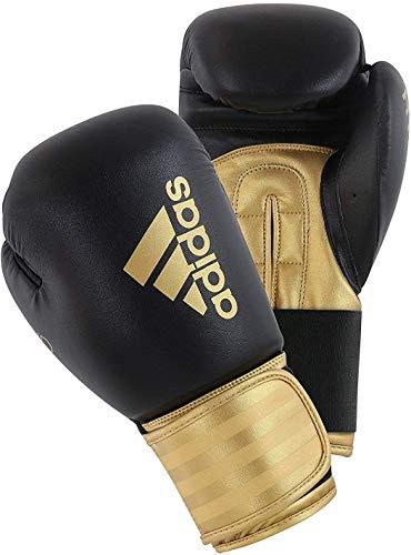 adidas Unisex Hybrid 100 Boxing Gloves, Gold, 16 Oz