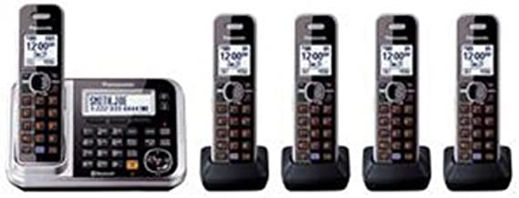 Panasonic Bluetooth Cordless Phone KX-TG7875S Link2Cell with Enhanced Noise Reduction..
