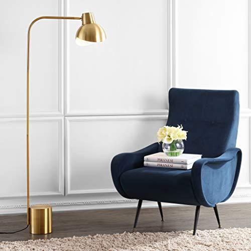 Safavieh FLL4041A Lighting Collection Violetta Floor Lamp, Brass