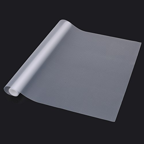 Sulimy Refrigerator Pad Shelf Liners Can Be Cut Refrigerator Mats Cupboard Pad Non-Slip Multifunctional Pad Fridge Pads Cabinet Closet Drawer Table Placemats