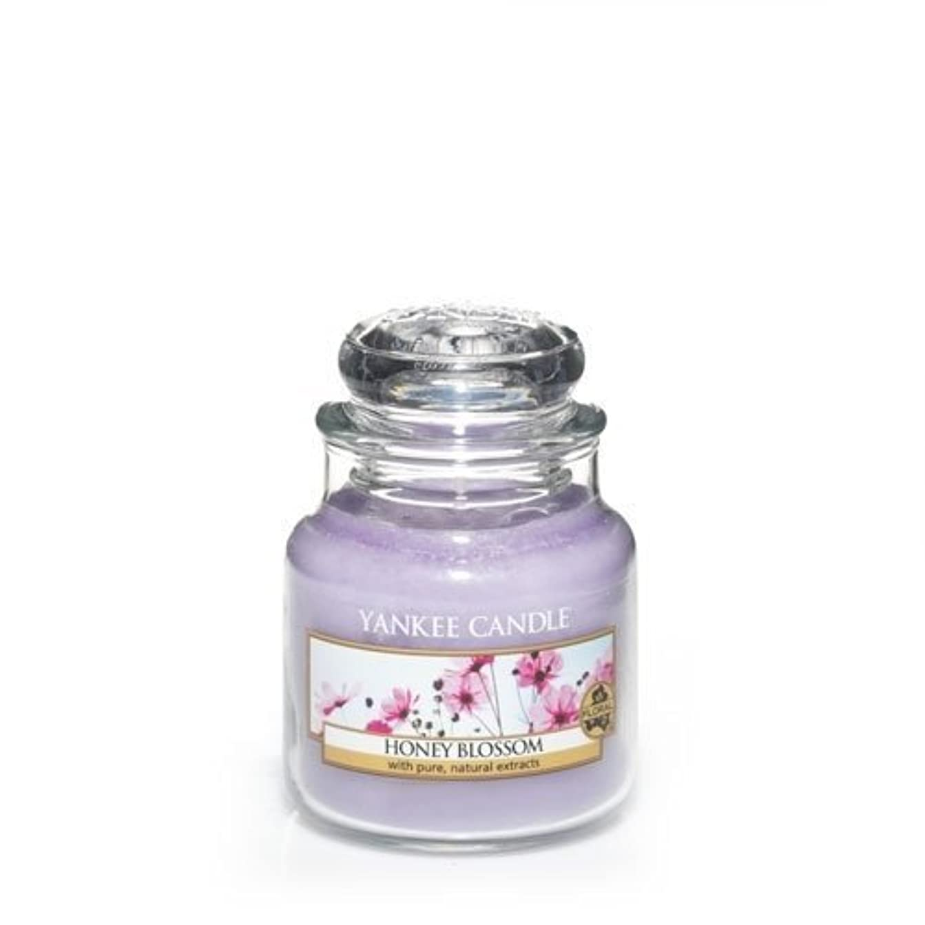 ストレッチ生きている橋脚Yankee Candle Honey Blossom Small Jar Candle, Floral Scent by Yankee Candle [並行輸入品]