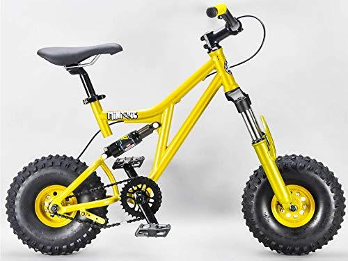 Mini Rig Rocker Mini bicicleta BMX Oro Mini MTB Downhill Bicicleta