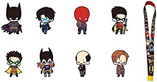 RUBBER CHARM COLLECTION BATMAN FAMILY DX