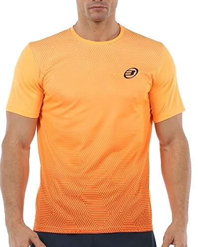 Bullpadel Camiseta Cenegui, Hombre, Mandarina Fluor, 2XL