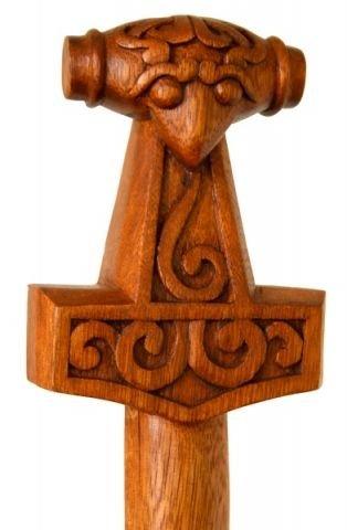 windalf Tige thoran H : 190 cm Marteau de Thor Randonnée en bois