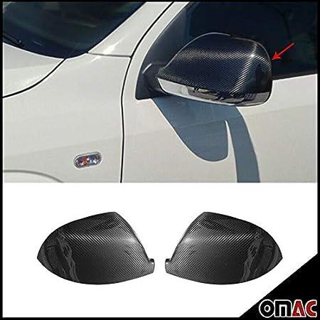 Echt Carbon Spiegelkappen Spiegelabdeckung Spiegelblenden Schutz Für T6 Multivan Transporter 6 Vi 2015 2020 Auto