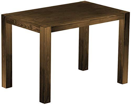 Brasilmöbel Hochtisch Rio Kanto 160x100 cm Eiche antik Bartisch Holz Tisch Pinie Massivholz Stehtisch Bistrotisch Tresen Bar Thekentisch Echtholz Größe und Farbe wählbar