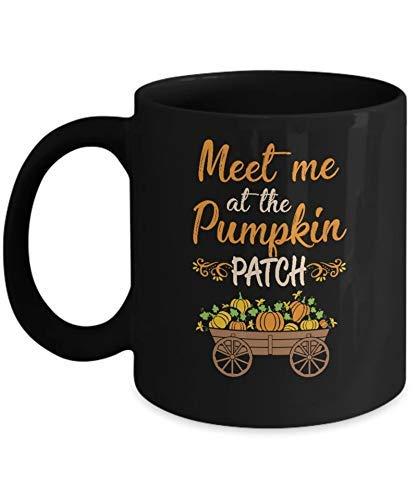 N\A Encuntrame en el huerto de Calabazas Disfraz de Halloween Taza de caf Taza de caf