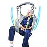 WLKQ Paciente paralítico Subir y Bajar Las escaleras Cinturón Transferencia para Adultos con Suministros de Cuidado para discapacitados Mochila para Ancianos