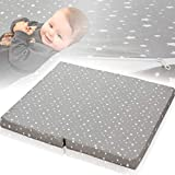 Matelas pour parc bébé (100 x 90 cm) 100 % coton