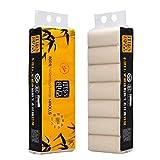 Rollo de papel higiénico natural Serie de calidad Papel de baño extra suave...
