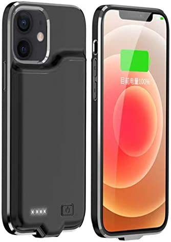 KERTER Battery Case for iPhone 12 Mini 5G 5 4 5200mAh Rechargeable Charging Case Support Audio product image