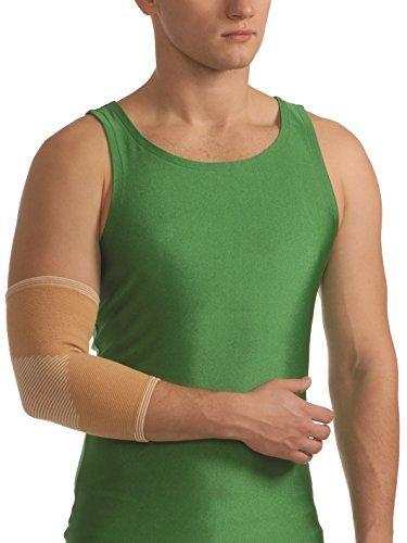 Ellenbogenbandage elastisch Ellenbogen Bandage Ellenbogengelenk Gelenk Arm 8302 beige M