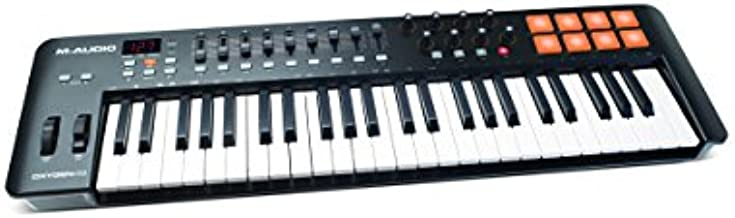 M Audio Oxygen 49 IV   49 Key USB/MIDI Keyboard With 8 Trigger Pads & A Full Consignment of Production/Performance Ready Controls
