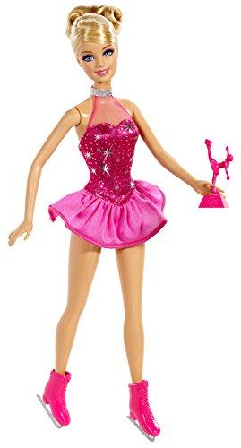 Mattel - Patines de Hielo Barbie (BDT26)