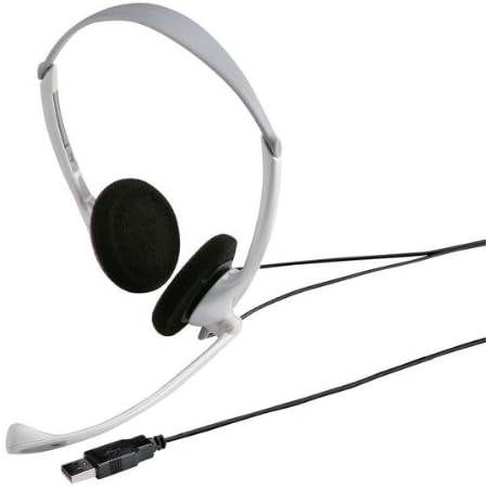 サンワサプライ USBヘッドセット/ヘッドホン MM-HSUSB10W