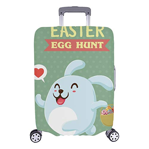 Suitcase Protector Xl Happy Easter Decor For Children Durable Washable Protecor Cover Fits 28.5 X 20.5 Inch Luggage Covers For Men Baggage Cover Suitcase Protector Xl