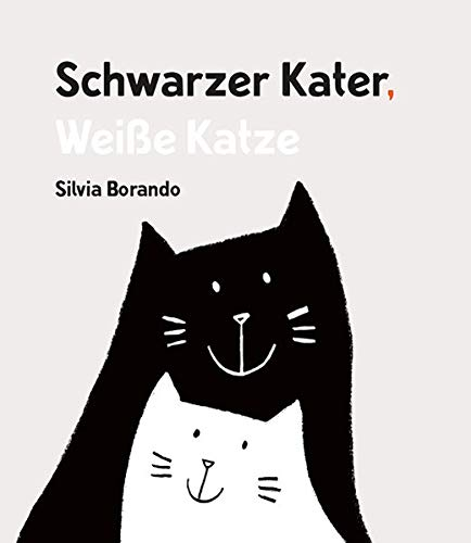 Schwarzer Kater, Weiße Katze