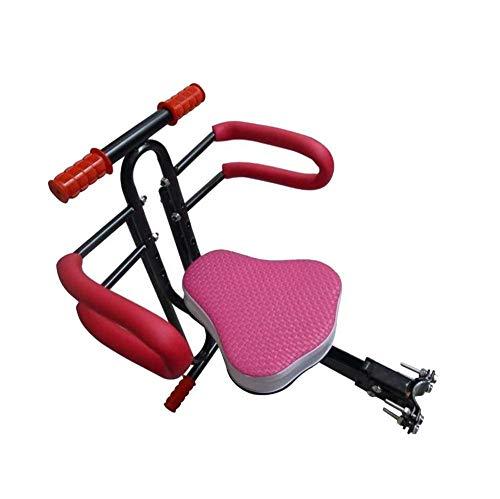 wangt veiligheidsfiets-kinderzitje kinderzitje vooraan fiets-baby-veiligheidszitje met armleuning en pedaalsnelsluiting