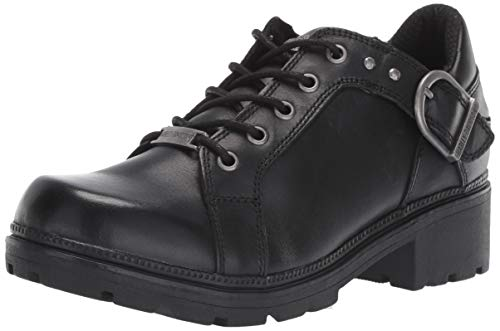 Harley-Davidson Women's Rovana 3-Inch Casual Ankle Boots D84407 (Black, 9)