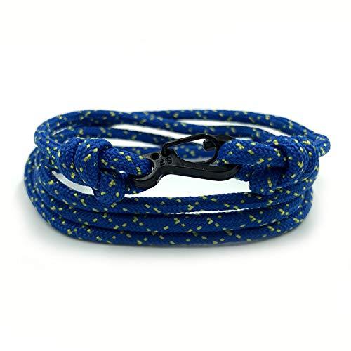 Rock + Shore Fireflies pulsera de escalada | Mosquetón pulsera | pulsera para hombre | pulsera para mujer | pulsera de cuerda de paracaídas | regalo para él