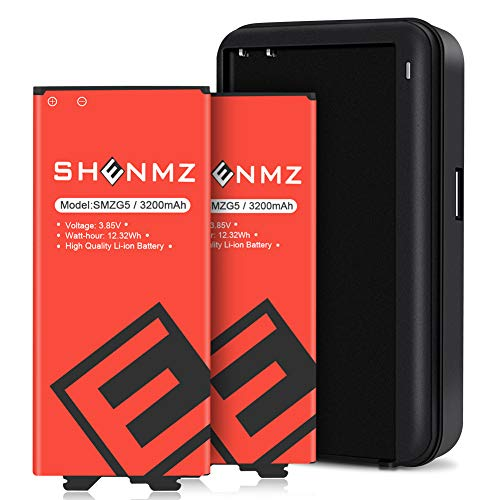 LG G5 Battery, Upgraded 2 x3200mAh Li-ion Replacement Battery for G5 BL-42D1F VS987 Verizon,H820 at&T, LS992 Sprint,H830 T-Mobile, US992,H845 Dual H850 H858 Spare Battery with G5 Spare Battery Charger