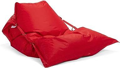 Ricrac Runden Buggle-up beanbag - Red