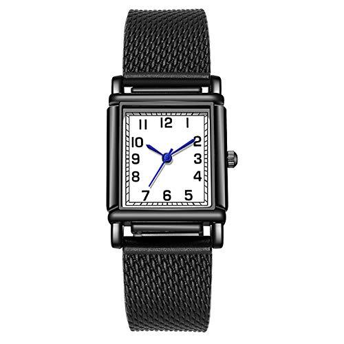 Reloj de pulsera para hombre con cronógrafo, de acero inoxidable, resistente al agua, analógico, con fecha, reloj de negocios, Multicolor-34, talla única,