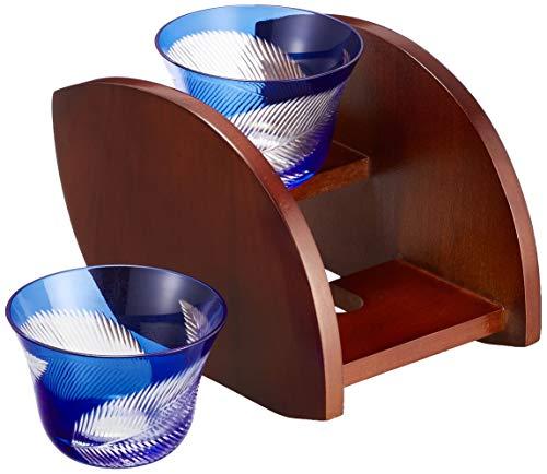 東出漆器 きりこ森のリーフ ペア冷茶碗(R) 5971