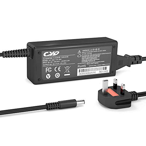 CYD 45W PowerFast Replacement for Laptop-Charger Dell L221X L321X L322X Inspiron 3558 3157 5558 5755 XPS11 XPS12 XPS13 9333 9343 9350 9360 CDF57 0CDF57 JT9DM XPS 11 series 9P33 Power AC-Adapter Cord