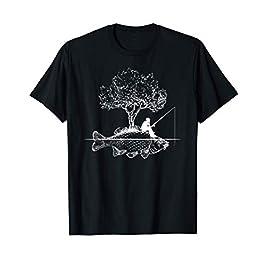 Pêche Poisson Carpe Pêcheur Cadeau Vintage T-Shirt