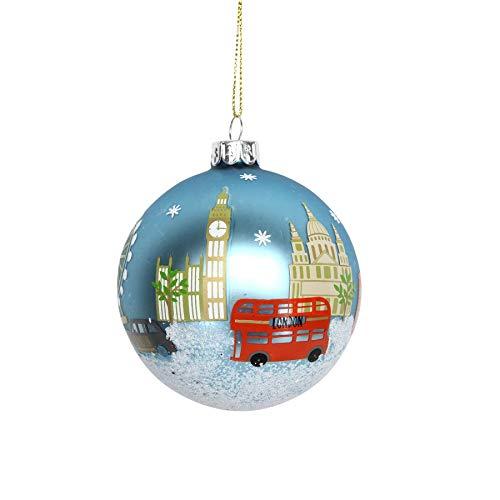 Gisela Graham London Pallina di Natale dipinta (8 cm)
