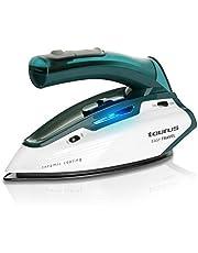 Taurus Easy Travel Plancha viaje, 1150W, 120, Acero Inoxidable, Verde, Color blanco