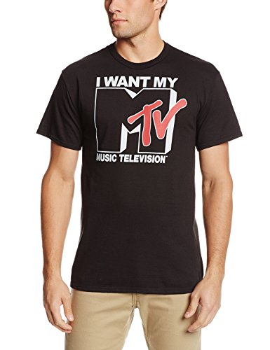 I Want My MTV 80s Logo T-Shirt, S to 2XL