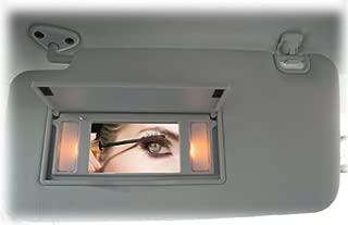 C&C Car Worx Vanity Mirror Dash Harness Connector, Illuminated Vanity Sun Visors for 2009 10 11 12 13 Subaru Forester