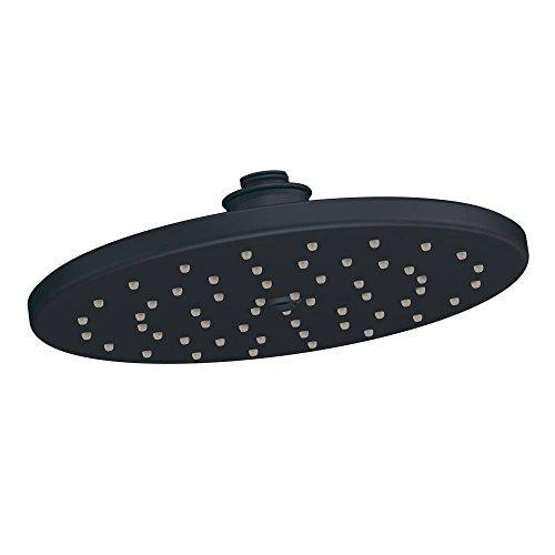 Moen S112WR Waterhill One-Function 10-Inch Diameter Rainshower Showerhead, Black Brushed Nickel by Moen