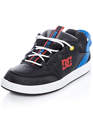 DC Shoes Syntax - Leather Shoes for Kids - Schuhe - Jungen - EU 36 - Schwarz
