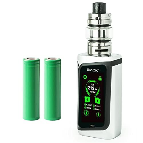 Smok Morph 219 Kit inkl. TF Tank (6 ml) 5000 mAh E-Zigarette E-Shisha Starterset (nikotinfrei) (chrom)