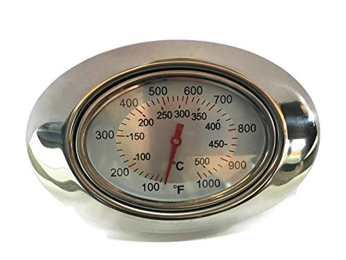 American Outdoor Grill Hood Thermometer, AOG, Fire Magic Charcoal   24-B-10